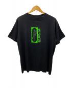 ()の古着「プリントTシャツ」 ブラック×グリーン