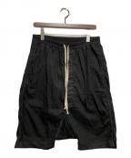 DRKSHDW(ダークシャドウ)の古着「サルエルハーフパンツ」 ブラック