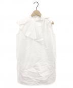 YORI(ヨリ)の古着「ブラウス」|ホワイト