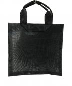beautiful people(ビューティフルピープル)の古着「ロゴエンボスチュールトートバッグ」|ブラック