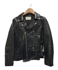 beautiful people (ビューティフルピープル) vintage leather riders jacket ブラック サイズ:160㎝