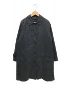 ()の古着「ダウンライナー付きステンカラーコート」 ブラック
