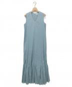 MARIHA(マリハ)の古着「夏の月影のドレス」|ライトブルー