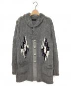 COAL BLACK(コールブラック)の古着「ファーコート」|グレー