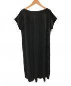 martinique(マルティニーク)の古着「アシンメトリーイージードレス」 ブラック