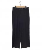 GIORGIO ARMANI(ジョルジョアルマーニ)の古着「パンツ」|ブラック