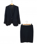 GIORGIO ARMANI(ジョルジオアルマーニ)の古着「スカートスーツ」|ネイビー