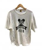 HUMAN MADE(ヒューマンメイド)の古着「コラボカットソー」|ホワイト