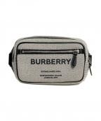 BURBERRY(バーバリー)の古着「21SS ホースフェリープリントバムバッグ」|グレー