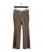 MUSE de Deuxieme Classe(ミューズ ドゥーズィエム クラス)の古着「アサ サルファー染め パンツ」|ブラウン