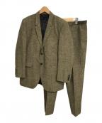 BURBERRY PRORSUM(バーバリープローサム)の古着「セットアップスーツ」|ブラウン