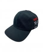 OFFWHITE(オフホワイト)の古着「Side Logo Cap」 ブラック