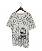 OFFWHITE(オフホワイト)の古着「BROKEN FENCE T-shirt」 ホワイト