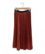 08sircus(ゼロエイトサーカス)の古着「プリーツスカート」 レッド