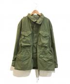 VINTAGE MILITARY(ヴィンテージ ミリタリー)の古着「M65ジャケット」 オリーブ