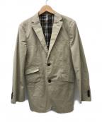 BURBERRY BLACK LABEL(バーバリーブラックレーベル)の古着「テーラードジャケット」 ベージュ