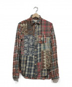 Denim & Supply Ralph Lauren(デニム&サプライ ラルフローレン)の古着「チェックシャツ」|レッド