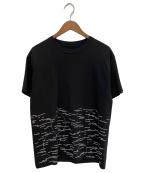 FUMITO GANRYU(フミトガンリュウ)の古着「プリントTシャツ」|ブラック
