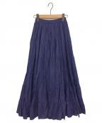 MARIHA(マリハ)の古着「草原の虹のスカート」|ネイビー