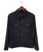 TATRAS(タトラス)の古着「スエードジャケット」 ブラック