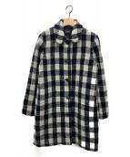 ()の古着「MANTEAU POUPEE 20PC」|ネイビー