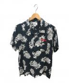 THE CRIMIE(ザ クライミー)の古着「アロハパイナップルシャツ」|ブラック