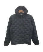 ()の古着「StretchDown DS Hooded Jacket」|ブラック