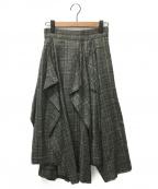 AKIRA NAKA(アキラナカ)の古着「スカート」|グレー