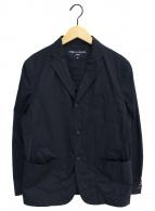 ()の古着「綿タイプライタージャケット」|ネイビー
