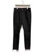 ()の古着「カットオフジーンズ」|ブラック