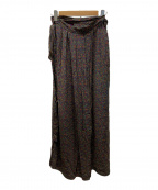 ISABEL MARANT ETOILE(イザベルマランエトワール)の古着「ラップスカート」|パープル