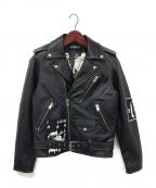 MISBHV(ミスビヘイブ)の古着「ライダースジャケット」|ブラック