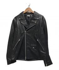 BEAUTY&YOUTH (ビューティアンドユース) シープレザーダブルライダースジャケット ブラック サイズ:L