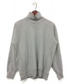 ()の古着「Fluffy High-Neck Pullover」|グレー