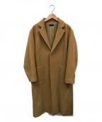 G.V.G.V(ジーヴィージーヴィー)の古着「チェスターコート」|ベージュ