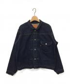LEVI'S VINTAGE CLOTHING(リーバイスヴィンテージクロージング)の古着「1st復刻モデルデニムジャケット」 インディゴ