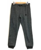 ()の古着「フリースナローパンツ」|グレー
