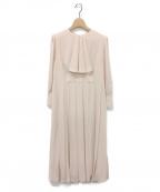 CELFORD(セルフォード)の古着「プリーツワンピース」|ライトピンク