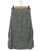 ()の古着「カラーツイストニットスカート」