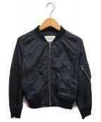 ()の古着「Lightweight nylon MA-1 blouson」|ブラック