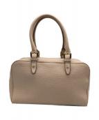 ()の古着「ハンドバッグ」|ベージュ