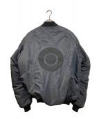 ()の古着「MA-1ジャケット」 ネイビー