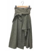 ()の古着「スカート」|グレー
