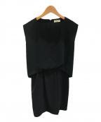 BALENCIAGA(バレンシアガ)の古着「ノースリーブワンピース」|ブラック