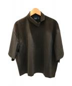 ()の古着「ハイネックTシャツ」 ブラウン