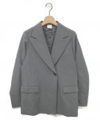ELIN(エリン)の古着「セミオーバージャケット」|グレー