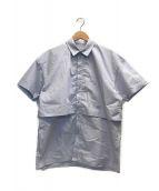 ()の古着「半袖シャツ」|アイスブルー