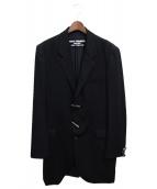 ()の古着「ロングジャケット」 ブラック