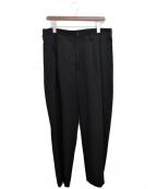 YohjiYamamoto pour homme(ヨウジヤマモトプールオム)の古着「2タックパンツ」|ブラック