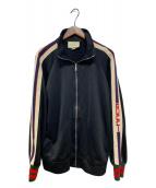 ()の古着「テクニカルジャージージャケット」|ブラック